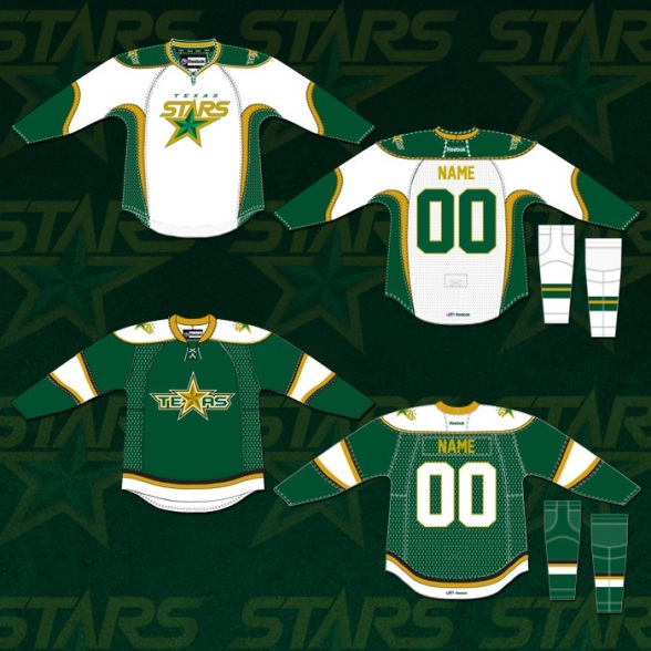 2013-14 Texas Stars Jerseys